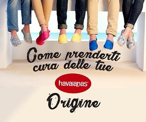 COME PRENDERTI CURA DELLE TUE HAVAIANAS ORIGINES