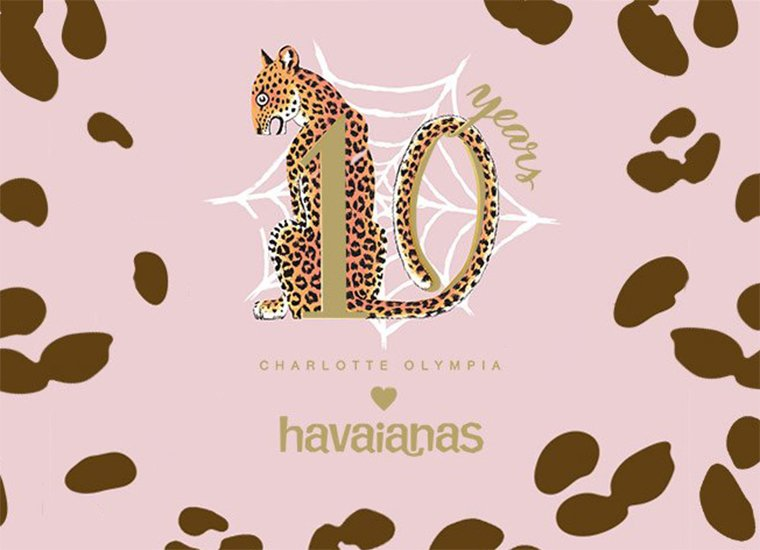 CHARLOTTE OLYMPIA AND HAVAIANAS: A SUMMER OF GLAMOUR