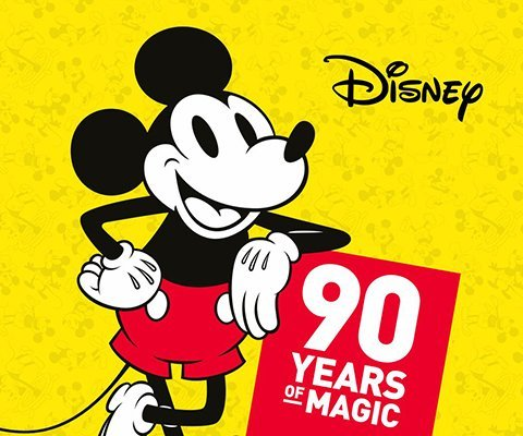 MICKEY MOUSE CELEBRATES 90TH ANNIVERSARY!