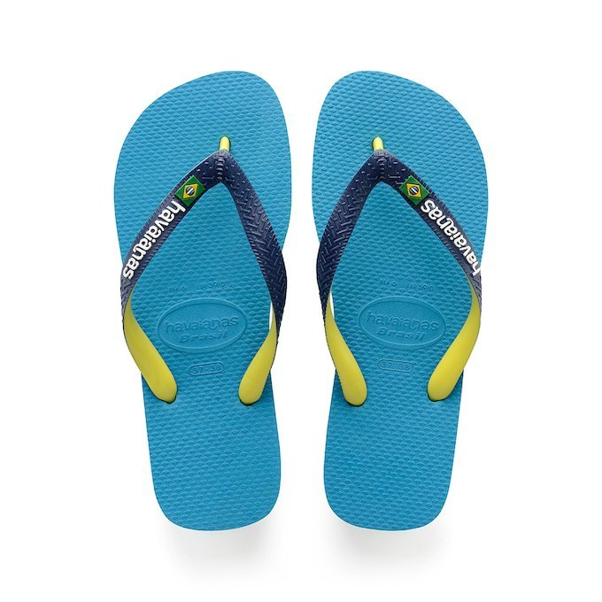 04a6631c30fe7d HAVAIANAS BRASIL MIX - Turquoise