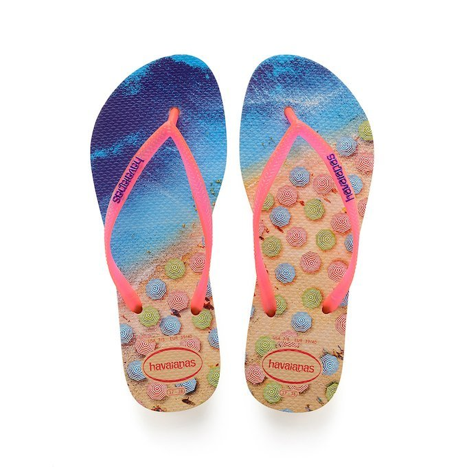 Havaianas Tropical Slim Paisage Flip Flops kyykzY