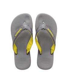 001a62db2 HAVAIANAS SURF PRO- Steel Grey   Grey Flip flops for women