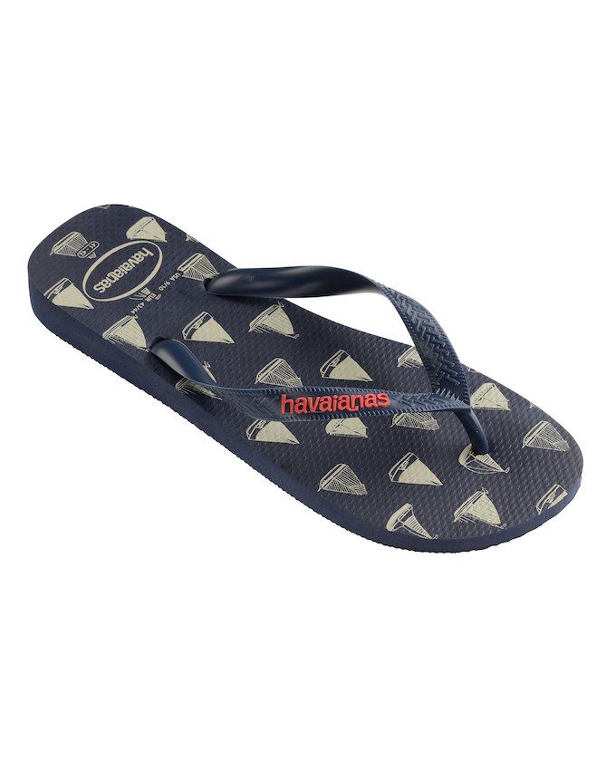 ... HAVAIANAS TOP NAUTICAL - Navy Blue   Navy Blue ... 127d66ed72c