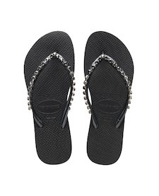 9d5580dbcdc6e HAVAIANAS SLIM ROCK MESH- Black Exclusive collection for women