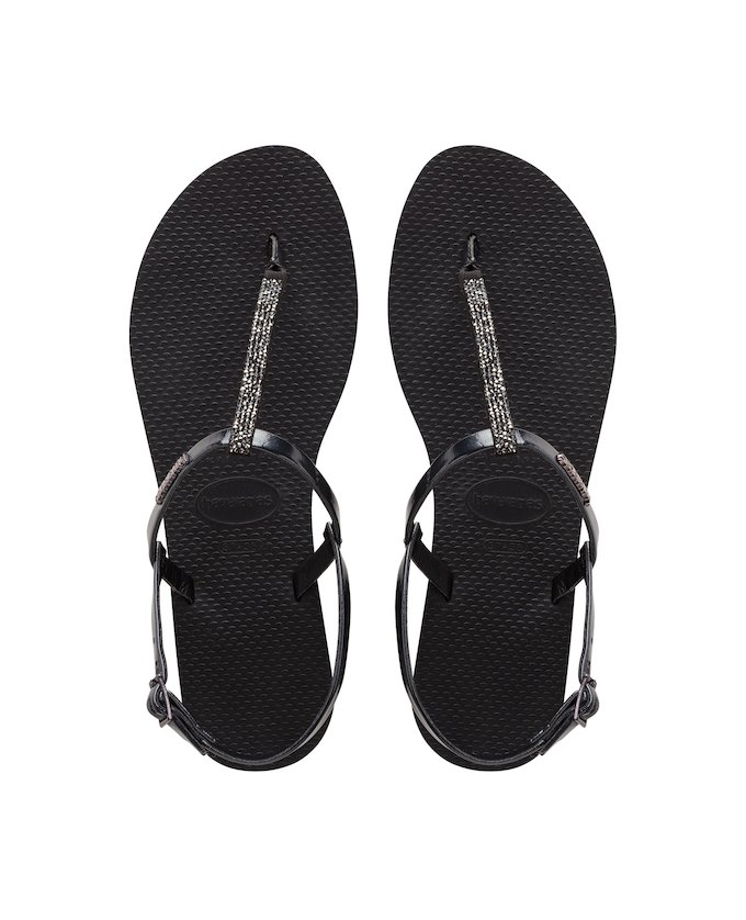 ff00049d9d66 ... HAVAIANAS YOU RIVIERA CRYSTAL - Black