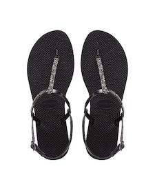 HAVAIANAS YOU RIVIERA CRYSTAL- Black Exclusive collection for women