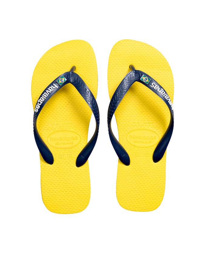0618cd9f5f212 HAVAIANAS BRASIL LAYERS - Citrus Yellow