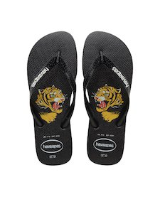bbaf74c1f HAVAIANAS TOP WILD- Black Flip flops for women