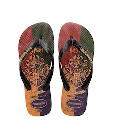 51393eb6b HAVAIANAS TOP HARRY POTTER- Ivory Flip flops for women